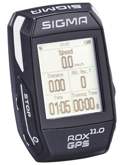 SIGMA SPORT ROX 11.0 GPS Fahrradcomputer Set schwarz